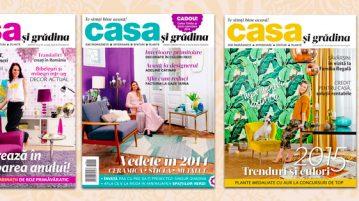 Abonamente revista Casa și grădina