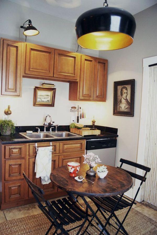 3 bucatarii mici frumoase si practice casa i gr dina - Como amueblar una cocina pequena ...