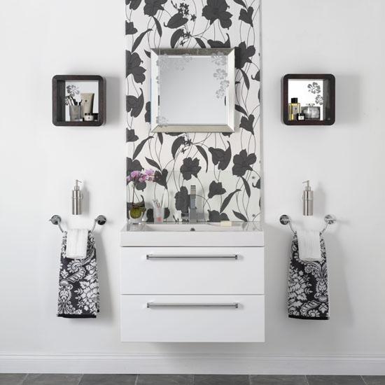 Amenajarea baii fototapet intr o baie mica casa i gr dina for Ideal home wallpaper