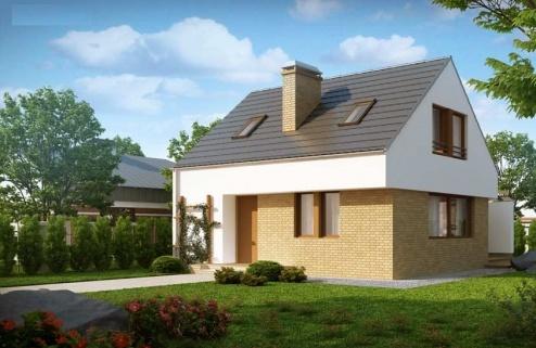 Proiecte case mici cu mansarda preturi
