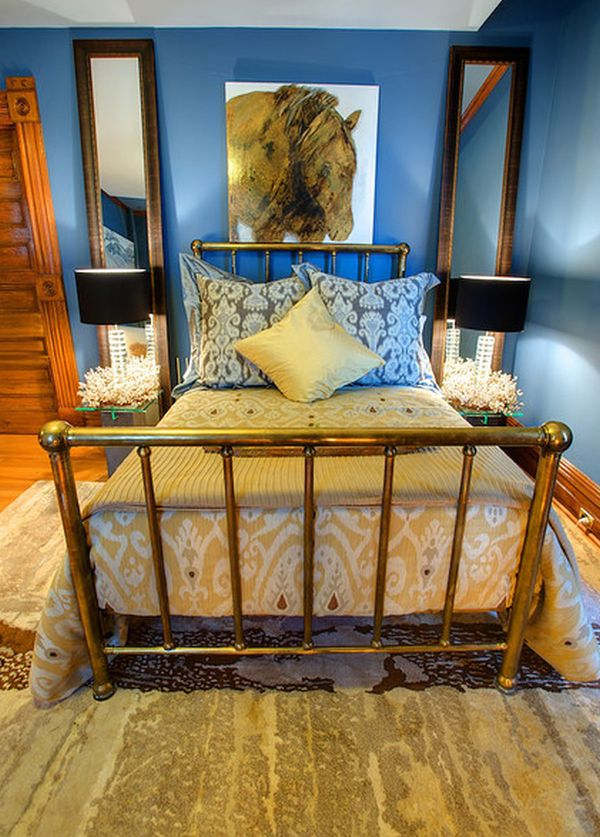 brass-bed