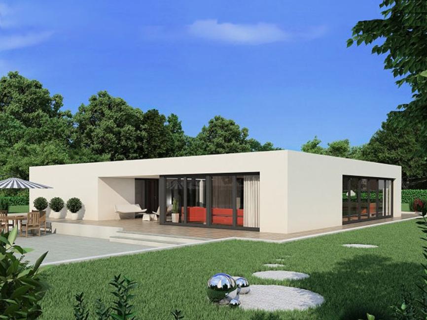 Proiecte de case moderne casa i gr dina - Case moderne ad un piano ...