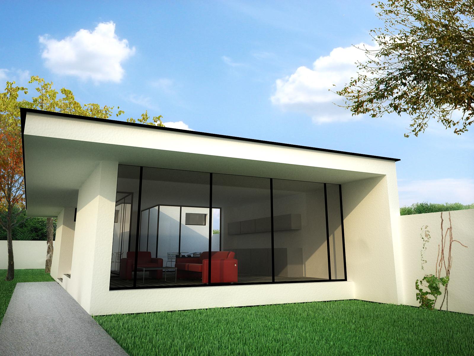 Proiecte de case moderne casa i gr dina - Moderne fotos ...