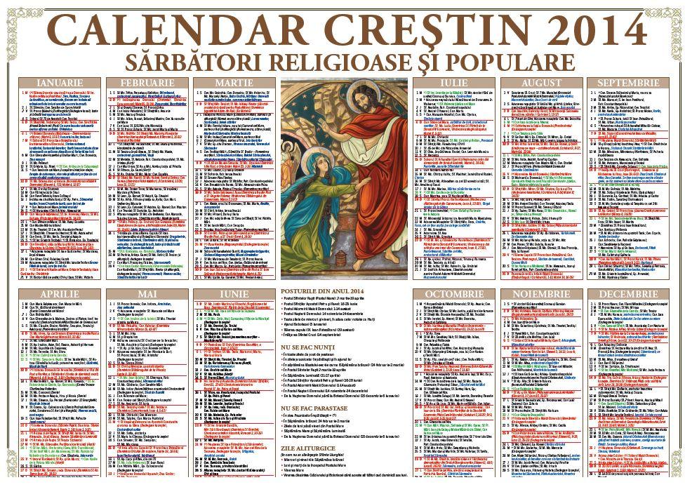 calendar crestin