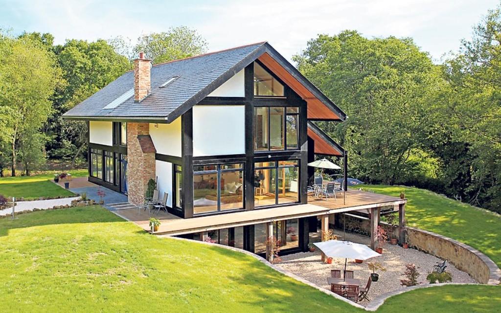 Modele de case cu beci for Ecological house plans