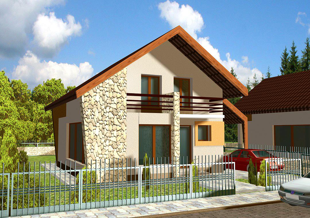 Modele de case 2014 casa i gr dina for Proiecte case mici cu mansarda gratis