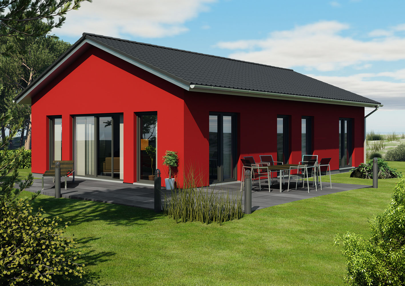 Proiecte de case bungalow casa i gr dina for Case in stile bungalow