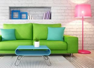 culoarea înlocuiește mobila