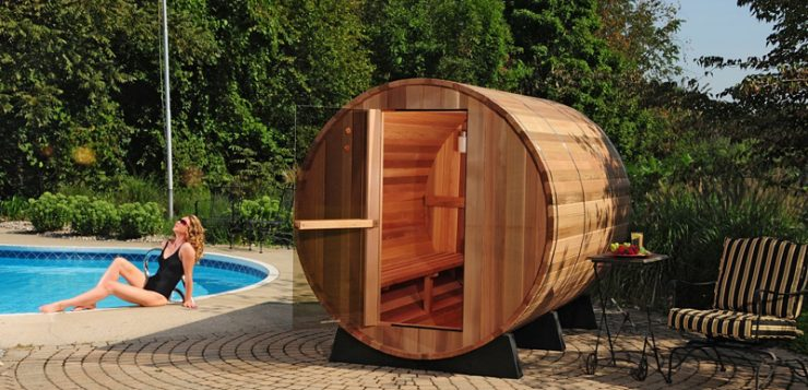 Saune de exterior