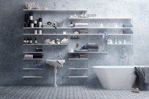 depozitare in baie