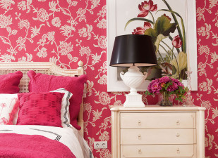 Dormitor într-un stil clasic, romantic