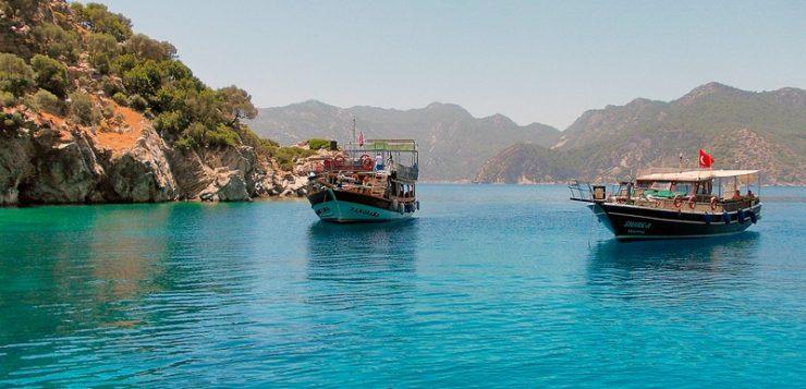 statiunea Marmaris, de pe litoralul turcesc