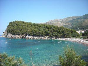 Muntenegru plaja Lucice Petrovac na Moru