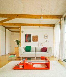 living cu lemn