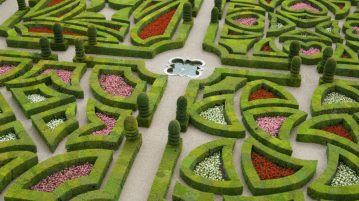 labirint verde miniatural