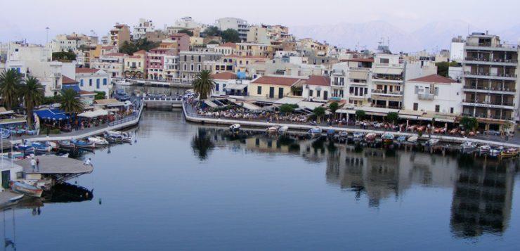 Creta lacul Voulismeni Agios Nikolaos