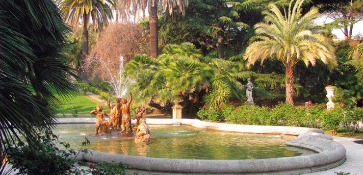Sanremo parcul Nobel