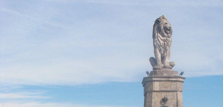 Lindau statuie leu bavarez