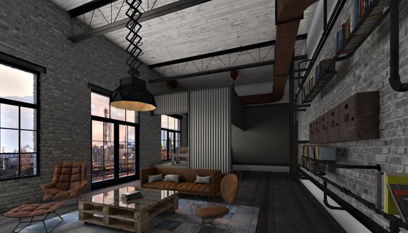 Living Industrial, concept Zone Deco