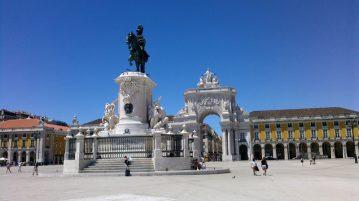 Lisabona Praca do Comercio