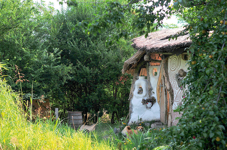 Viata moderna in coliba casa i gr dina for Casa moderna in moldova