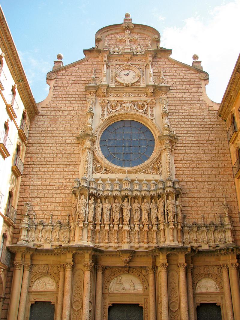 cladire manastire Montserrat regiunea Catalonia