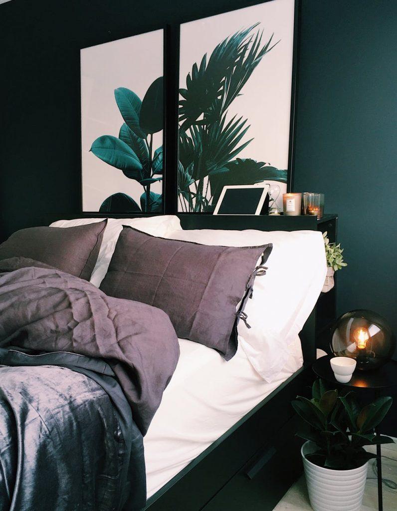 Detalii de culoare fac din domitor o camera romantica