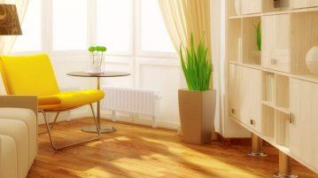 cameră galbenă