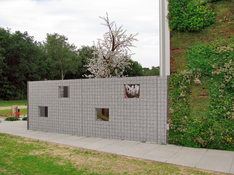elemente decorative gabioane