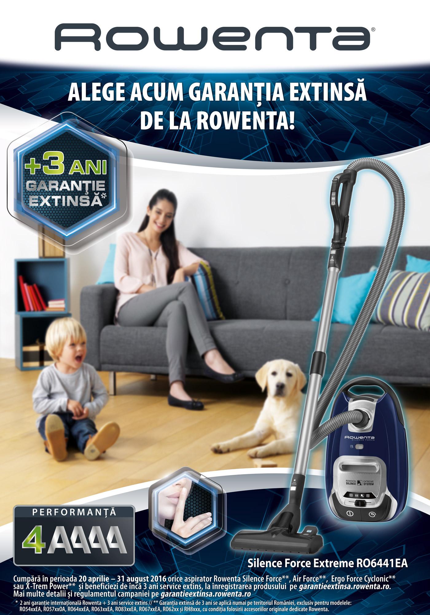 p rowenta silence force cel mai silen ios aspirator cu performan a 4a. Black Bedroom Furniture Sets. Home Design Ideas