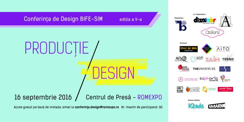 Conferinta de Design Bife-Sim