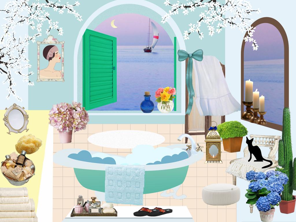 Plante decorative pentru baie (1)