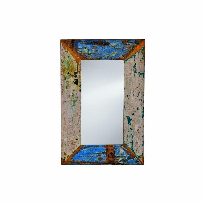 Oglindă din seria Cargo Furniture, brand Imso Ceramiche. Foto: Edil-Italy