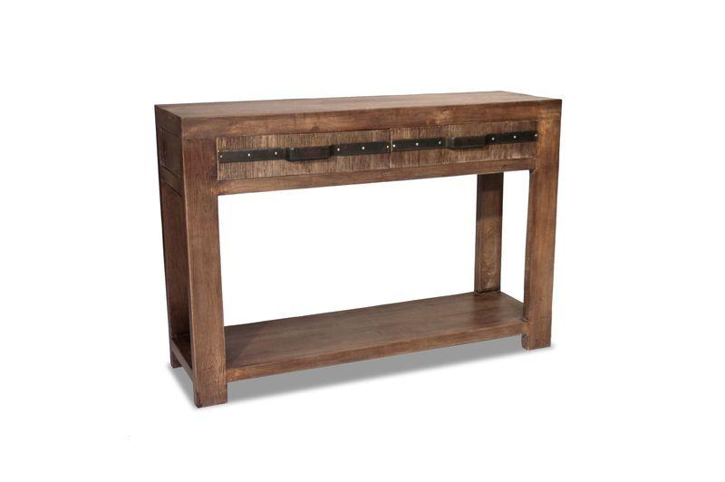 Consolă din lemn masiv, brand Coté Design. Foto: Coté Design