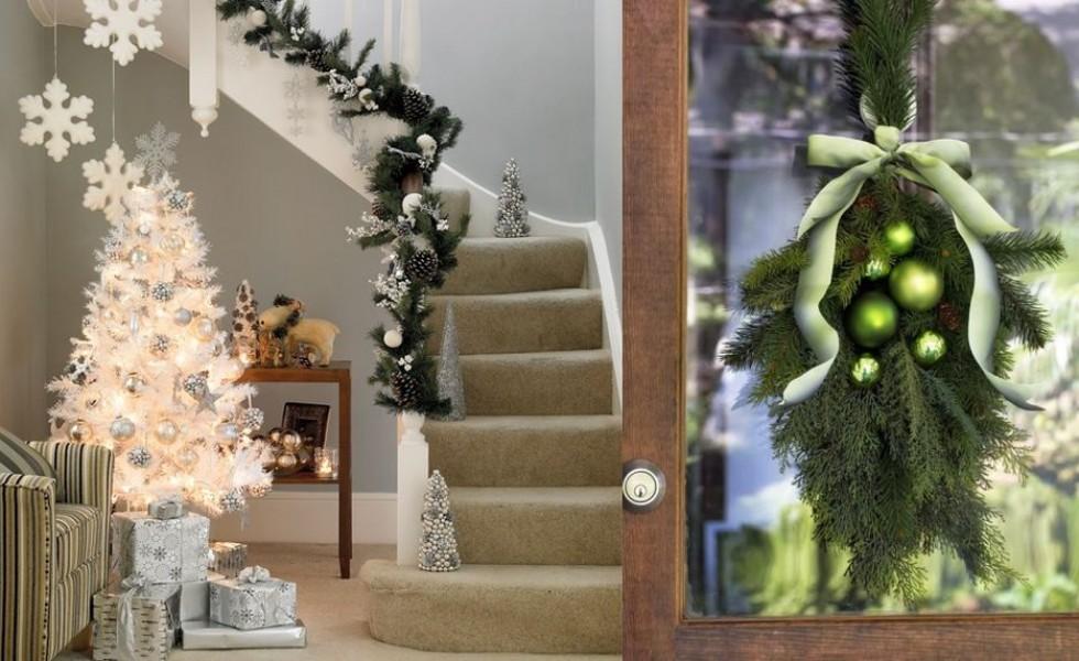 18 idei superbe de decoratiuni din crengi de brad casa for Ornamenti casa