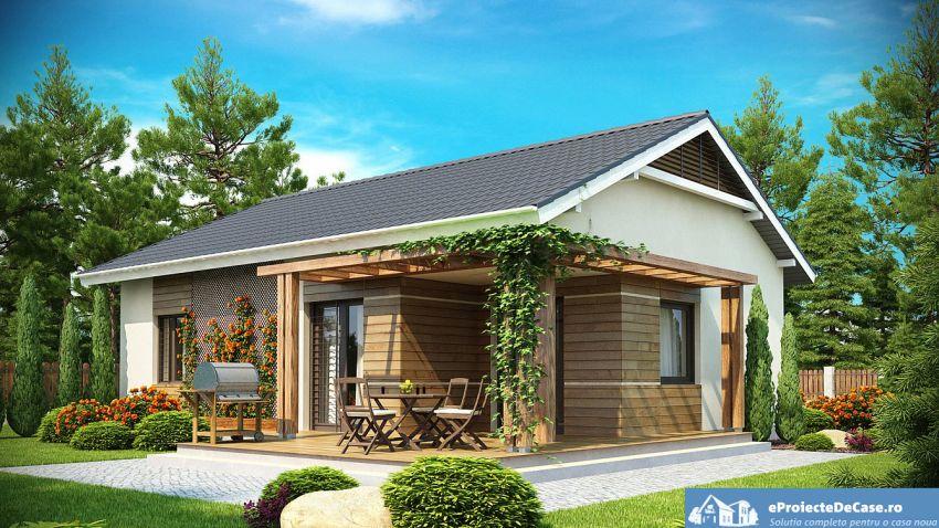 3 locuinte de vis pe un teren mic casa si gradina pe 300 for Case de vis mici