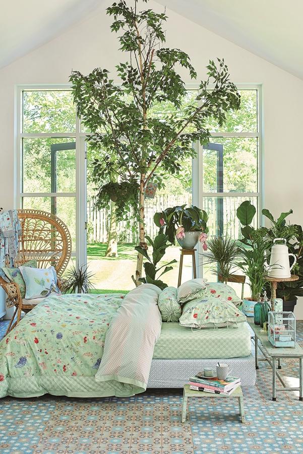 decorul naturii în dormitor