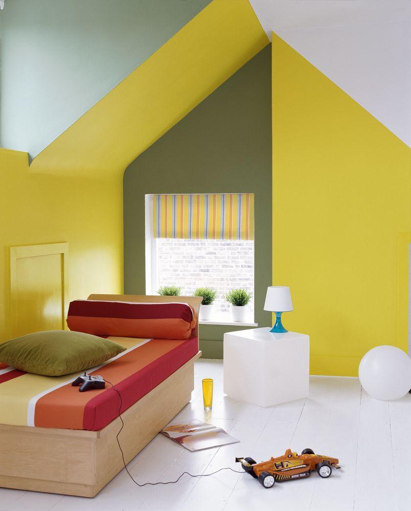 camera copilului galbena