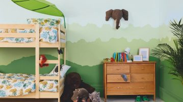 camera copilului vopsea Dulux