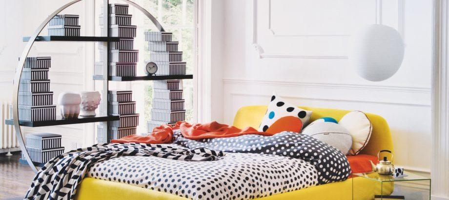10 idei de amenajare pentru un dormitor colorat