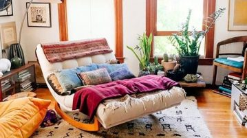 living pentru relaxare