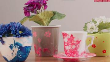 vase marmorate