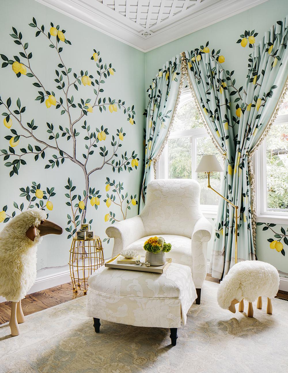 camera copilului - tapet Lemon Grove