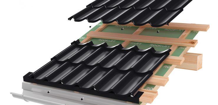 acoperis din tigla metalica