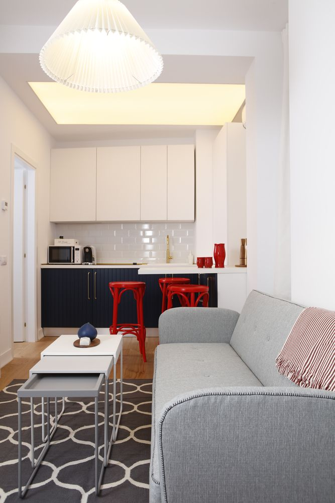 Apartament mic, open-space