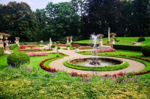grădină clasică mare