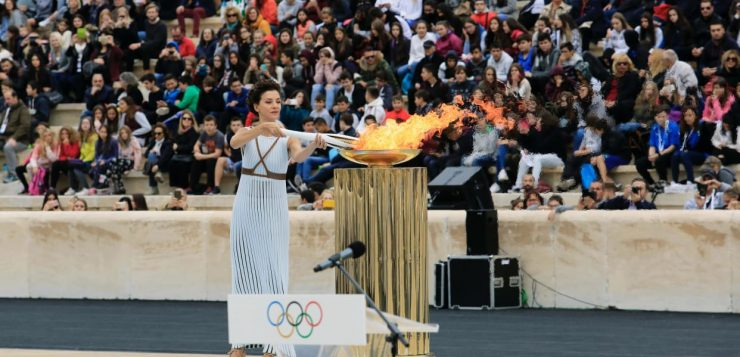 Ceremonie la Jocurile Olimpice