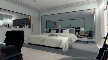 oglinda in dormitor, oglinda potrivita, camera de dormit, amanajare inspirata