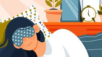 somn odihnitor, ilustratie, perne si saltele